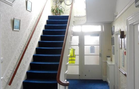 Anfield Manor Entrance Hall and Main Staircase